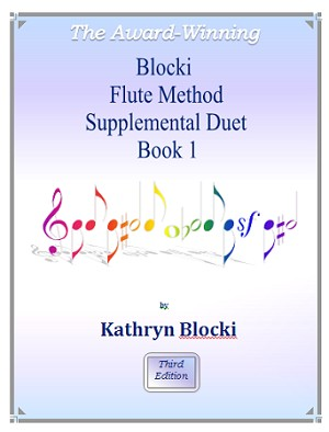 Blocki Flute Method Supplemental Duet Book 1