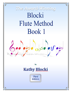 NEW!   Blocki Flute Method Student Book 1  4rd Edition